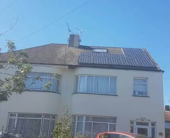 Bird protection for Solar panels in hertfordshire